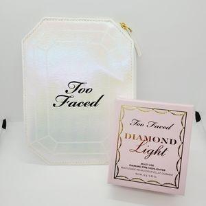 Diamond Light Highlighter | Radiant Pressed Powder | Too Faced | Brand New in Bo